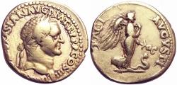 Ancient Coins - VESPASIAN. 69-79 AD. AV Aureus .