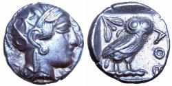 Ancient Coins - ATTICA, Athens. After 449 BC. AR Tetradrachm.
