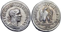 Ancient Coins - SYRIA, Seleucis and Pieria. Antioch. Philip II. AD 247-249.