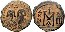 Ancient Coins - Revolt of the Heraclii. 608-610. Alexandria mint.