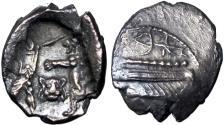 Ancient Coins - SAMARIA. Circa 375-333 BC. An Extremely rare coin .
