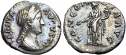 Ancient Coins - Sabina. Augusta, AD 128-136/7.