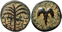 Ancient Coins - JUDAEA, Bar Kochba Revolt. 132-135 CE. Dated year one.