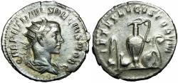 Ancient Coins - Herennius Etruscus. As Caesar, AD 249-251.