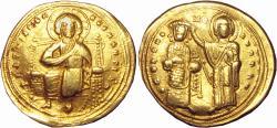 Ancient Coins - Romanus III Argyrus. 1028-1034. AV Histamenon Nomisma .