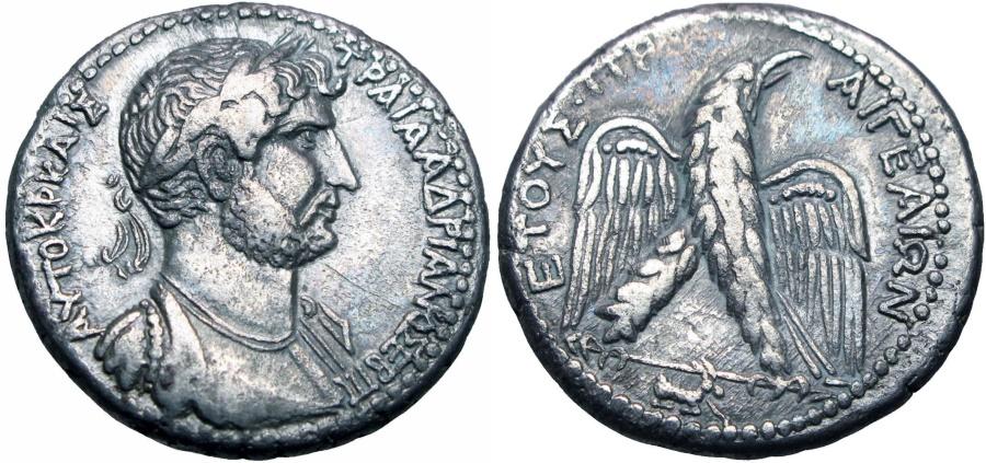 Ancient Coins - CILICIA, Aegeae. Hadrian. AD 117-138.