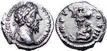 Ancient Coins - MARCUS AURELIUS. AD 161-180. GERMANY CAPTA.
