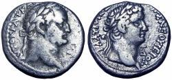 Ancient Coins - SELEUCIS and PIERIA, Antioch. Vespasian, with Titus as Caesar. AD 69-79.