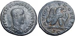 Ancient Coins - SYRIA, Seleucis and Pieria. Antioch. Herennius Etruscus. As Caesar, AD 249-251.