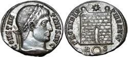 Ancient Coins - Constantine I,  AE follies, 326 AD. Rome mint.
