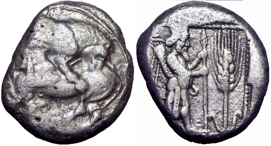 Ancient Coins -  Cilicia, Tarsos AR Stater. Circa 425-400 BC., Unique and of historical importance !!! read note.