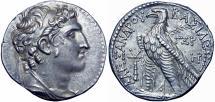 Ancient Coins - Seleukid Kings of Syria, Alexander I Balas AR Tetradrachm. Tyre, SE 163 = 150/49 BC.