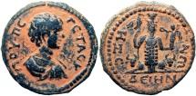 Ancient Coins - BIBILICAL, Decapolis. Dium. Geta. As Caesar, AD 198-209.