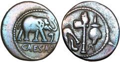 Ancient Coins - Julius Caesar. 49-48 BC.