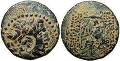Ancient Coins - Countermark of Cleopatra VII , SYRIA, Seleucis and Pieria. Antioch. Very clear details of Cleopatra .