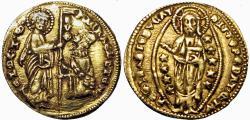 Ancient Coins - ITALY, Venezia (Venice). Michele Steno. 1400-1413. AV Ducato .