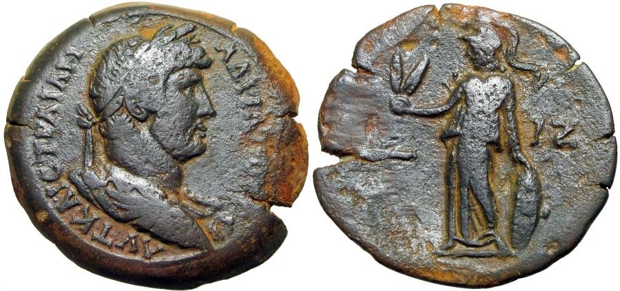 Ancient Coins - EGYPT, Alexandria. Hadrian. AD 117-138. Æ Drachm .