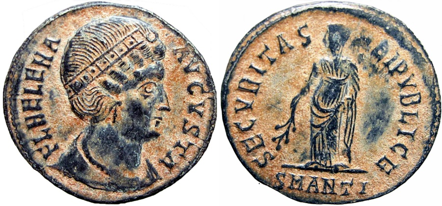 Ancient Coins - Helena. Augusta, AD 324-328/30. Expresive portrait !!!
