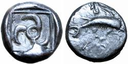 Ancient Coins - LYCIAN DYNASTS. Unknown dynast. Ca. 520-440 BC. Extremely rare, probably unpublished.