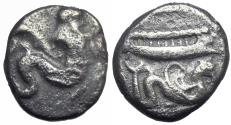 Ancient Coins - PHOENICIA, Arados. Uncertain king. Circa 400-380 BC.