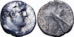 Ancient Coins -  JUDAEAN, PHOENICIA, TYRE. 126/5 BC-65 AD. JUDAS' 30 PIECES OF SILVE