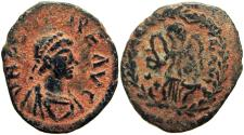 Ancient Coins - ZENO. Second Reign, 476-491 AD. Very rare.