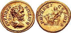 Ancient Coins - Septimius Severus. AD 193-211. AV Aureus