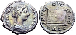 Ancient Coins - Crispina. Augusta, AD 178-182.