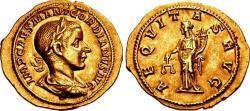 Ancient Coins - Gordian III. AD 238-244. AV Aureus.