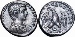 Ancient Coins - JUDAEA, Caesarea Maritima. Diadumenian. As Caesar, AD 217-218.