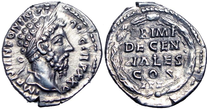 Ancient Coins - MARCUS AURELIUS. 161-180 AD. Stunning coin !!!