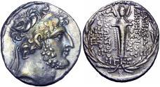 Ancient Coins - SELEUKID EMPIRE. Demetrios III Eukairos. 97/6-88/7 BC.