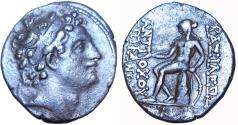 Ancient Coins - SELEUKID KINGS of SYRIA. Interregnum at Antioch. 146/5 BC.