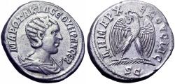 Ancient Coins -  SYRIA, Seleucis and Pieria. Antioch. Otacilia Severa, wife of Philip I. Augusta, 244-249 AD.