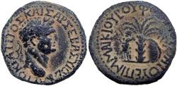 Ancient Coins - Judaea Capta; Bithynia, Asia Minor. Titus (79 - 81 AD), Among the rarist Judaea Capta bronze types !!!!!
