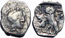 Ancient Coins - PHILISTIA (PALESTINE). Mid 4th century-333 BC.