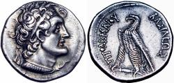 Ancient Coins - PTOLEMAIC KINGS of EGYPT. Ptolemy V or Ptolemy VI. 204-180 BC or 180-145 BC.