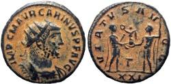 Ancient Coins - Carinus. AD 283-285.