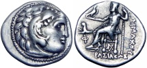 Ancient Coins - KINGS of THRACE. Lysimachos. 305-281 BC.