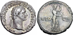 Ancient Coins - CAPPADOCIA, Caesarea. Domitian. 81-96.