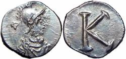 Ancient Coins - ROMA. After 330 AD. AR Third-Siliqua.