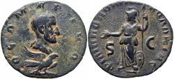 Ancient Coins - ARABIA, Philippopolis. Divus Julius Marinus. Died circa AD 246/7.