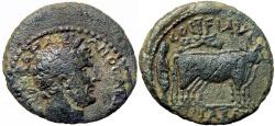 Ancient Coins - JUDAEA, Caesarea. Hadrian. 117-138 AD. Ex Superior Galleries sale 1988 lot number 1604, EX Moreira collection.