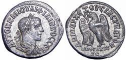 Ancient Coins - SYRIA, Seleucis and Pieria. Antioch. Philip II. AD 247-249. , Rare !
