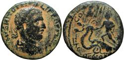 Ancient Coins - JUDAEA, Neapolis. Philip I. the Arab,  244-249 CE. probably unique .