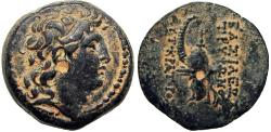 Ancient Coins - SELEUKID KINGS of SYRIA. Tryphon. Circa 142-138 BC. stunning details !!!!