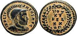 Ancient Coins - Licinius I AD 308-324. Struck AD 320. Rome, Extremely rare .
