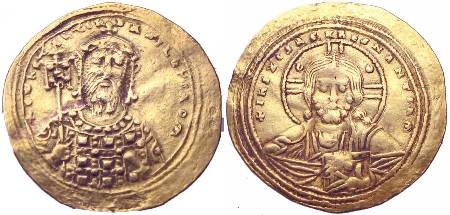 Ancient Coins - Constantine VIII. 1025-1028. AV Histamenon Nomisma .