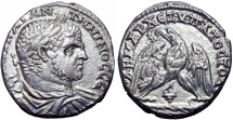Ancient Coins -  PHOENICIA, Tyre. Caracalla. AD 198-217.