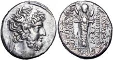 Ancient Coins -  SELEUKID KINGS of SYRIA. Demetrios III Eukairos. 97/6-88/7 BC.